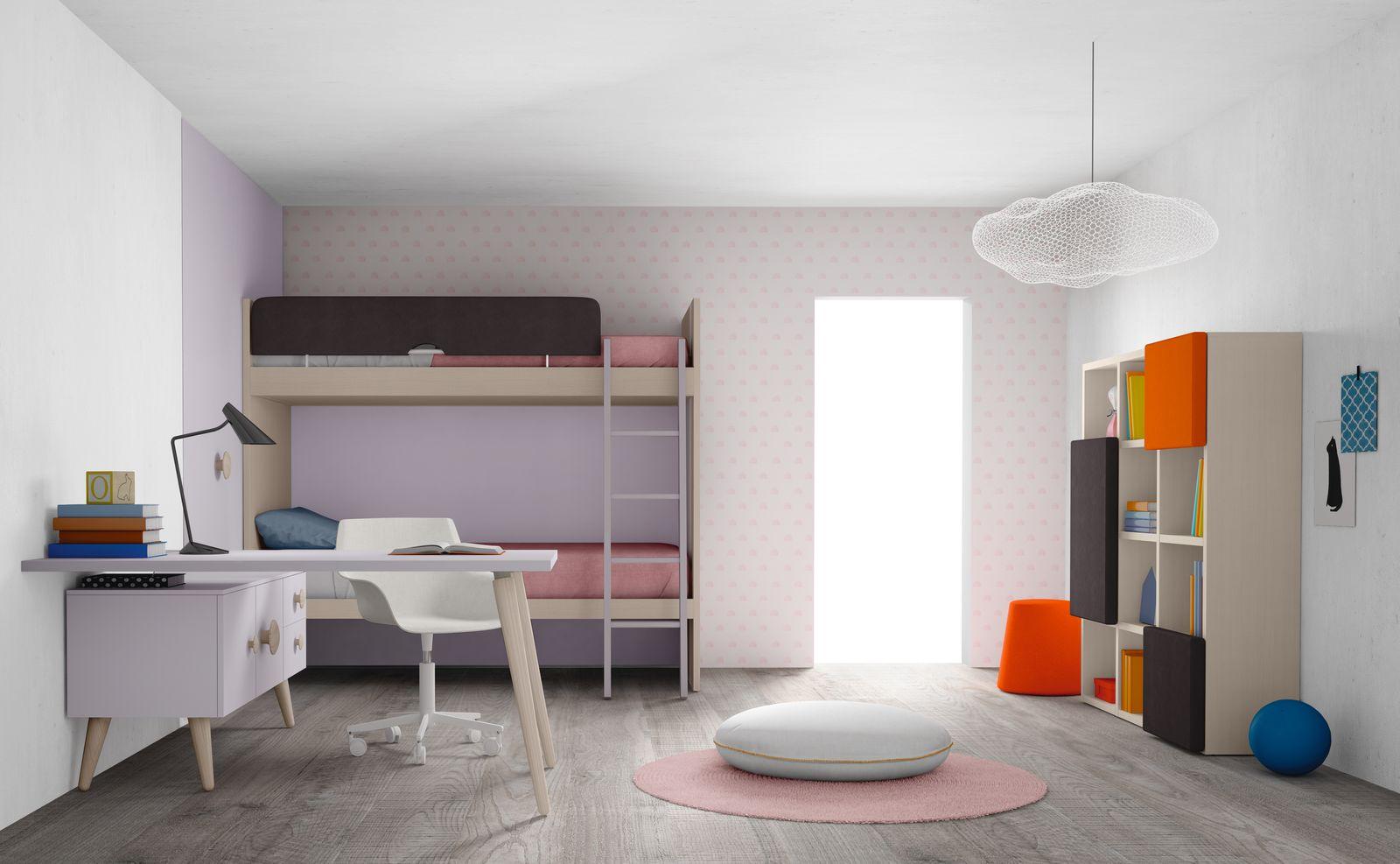 Maatwerk kinderslaapkamers, tienerslaapkamers, kasten, woonkamers ...
