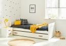 Ledikant met slaaplade van de kinderslaapkamer en tienerslaapkamer collectie van Coolkids meubelen.