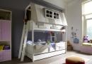 Life Time Kidsrooms kinderslaapkamers en tienerslaapkamers model Hangout. Boven om te spelen en beneden om te slapen