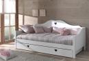 De bedbank van het model Amori