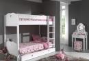 Het stapelbed en kaptafel van het model Amori van Vipack kinderkamer en tienerkamer