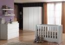 De babykamer van het model Lara