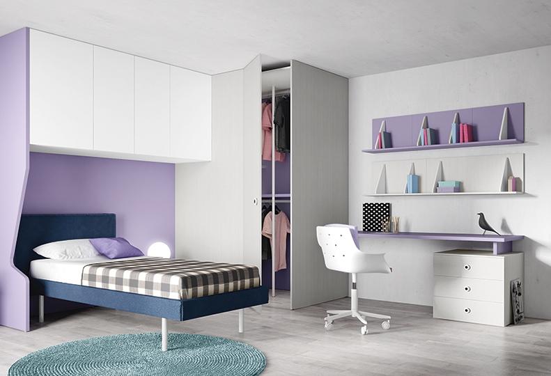 Battistella slaapland kidz teenz - Tiener slaapkamer kleur ...