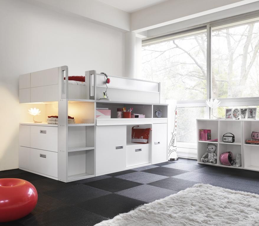 Stapelbed bureau op pinterest - Idee deco slaapkamer tiener jongen ...