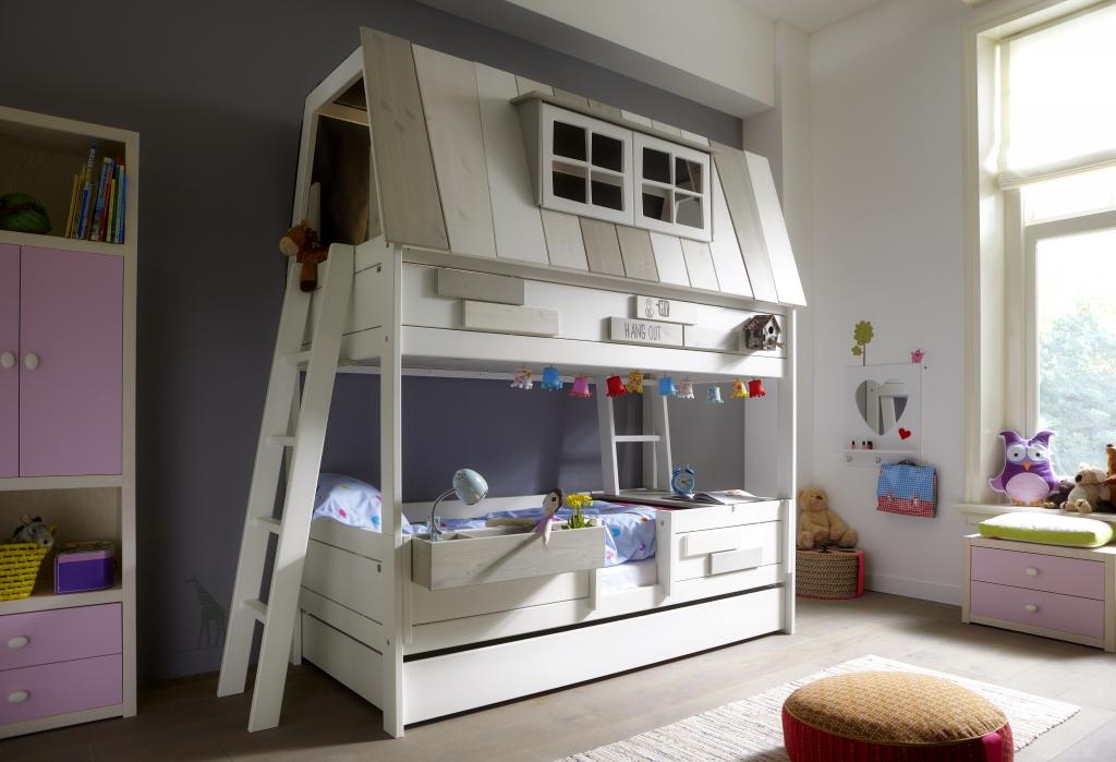 Life time kidsrooms slaapland kidz teenz - Stapelbed kleine kamer ...